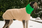 Hundepullover Fleece uni