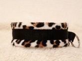 Fleece-Halsband Leopard