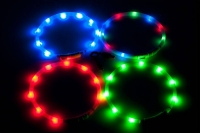 Ligth Collar LED rot