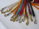 Roundleather Leash 2 m - 4mm   - for small dogs